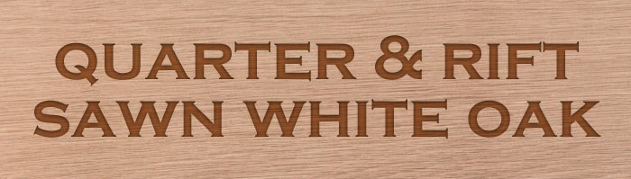 Quarter Rift Sawn White Oak Products Tilo Industries